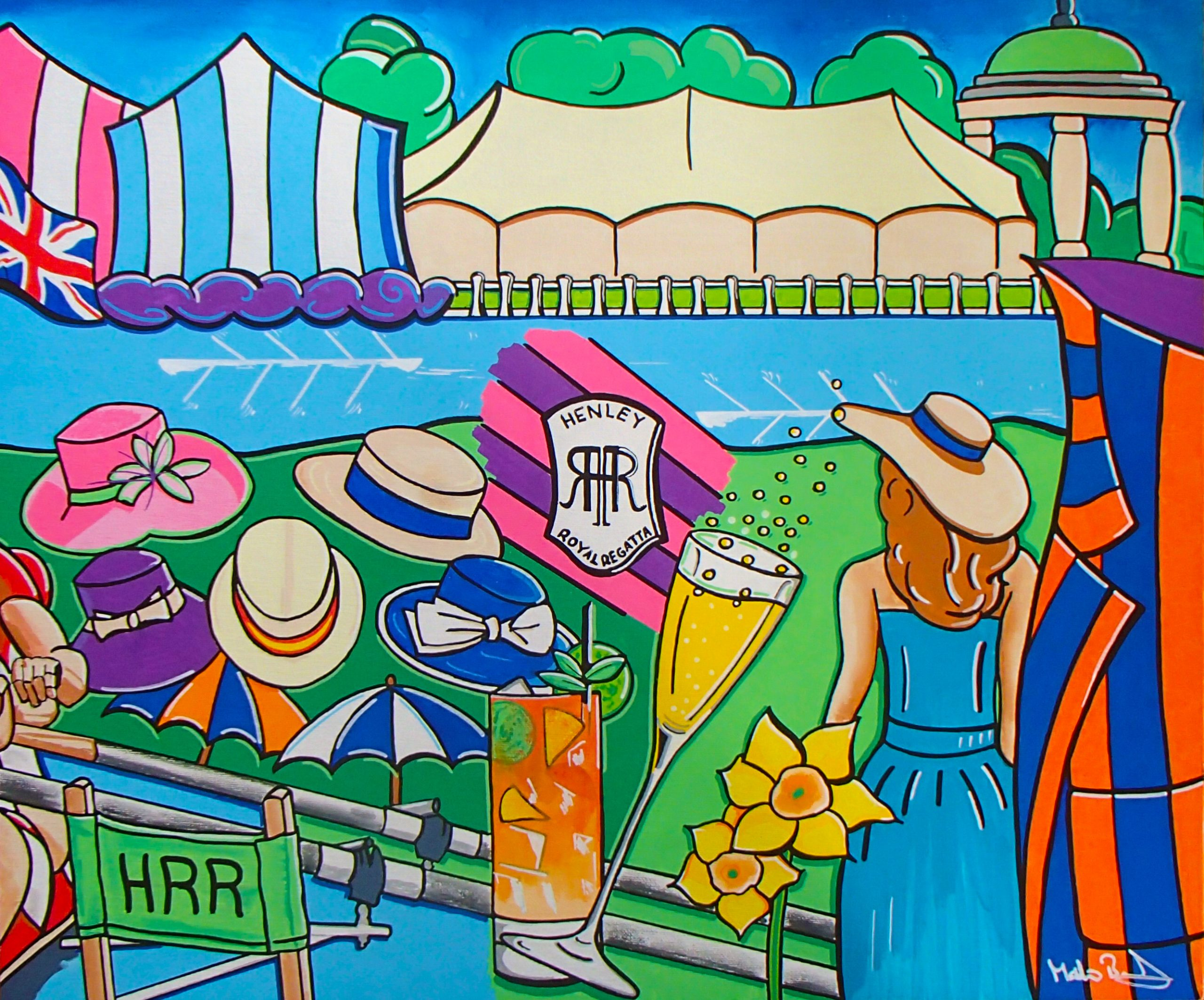 SOLD - A day at Henley Royal Regatta