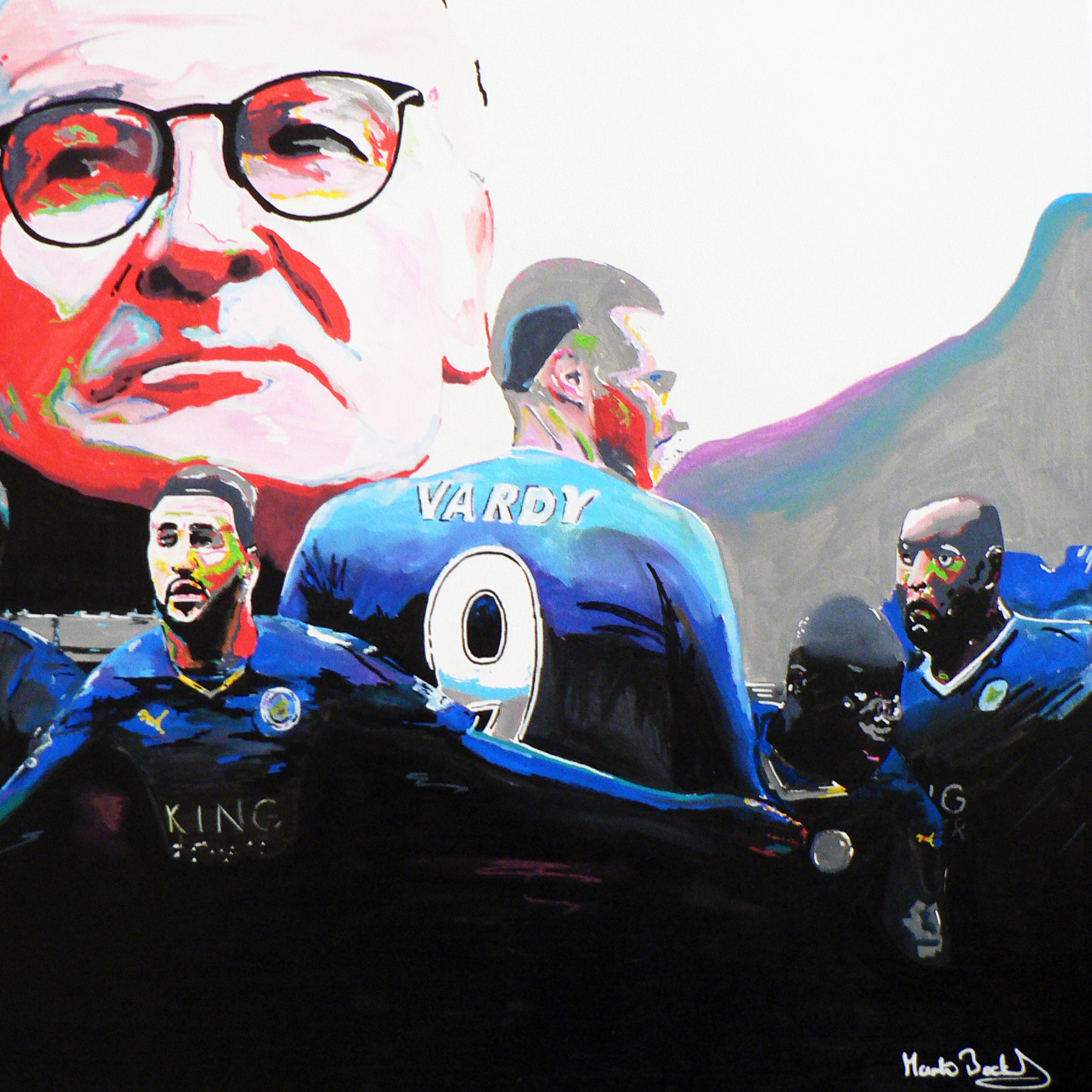 SOLD - Leicester City Champions
