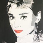 Audrey Hepburn by Martin Beckley